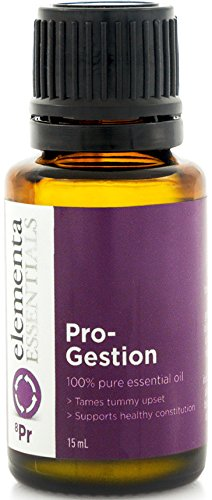 Elementa Essential Oil Pro-Gestion (Comparable To Doterra DigestZen & Young Living Digestive Blend DiGize) Natural Digestion Relief Therapy