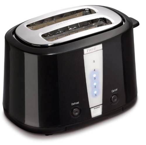 Prestige Dakota Toaster, 2 Slice, Black by Prestige