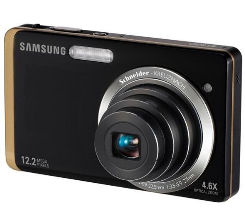 Samsung ST550 Digital Camera - Black/Gold (12MP, 5x Optical Zoom) 3.5 inch LCD