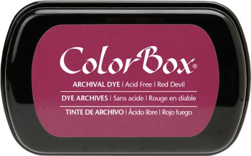 ColorBox Archival Dye Ink Full Size Inkpad, Red Devil (Devils Box compare prices)