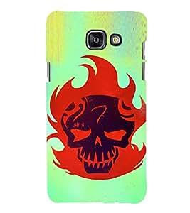 EPICCASE Burning Skull Mobile Back Case Cover For Samsung Galaxy A3 (Designer Case)