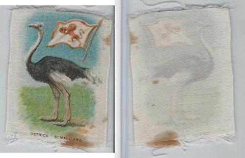 sc1-itc-silk-animal-flag-1910-ostrich-somaliland