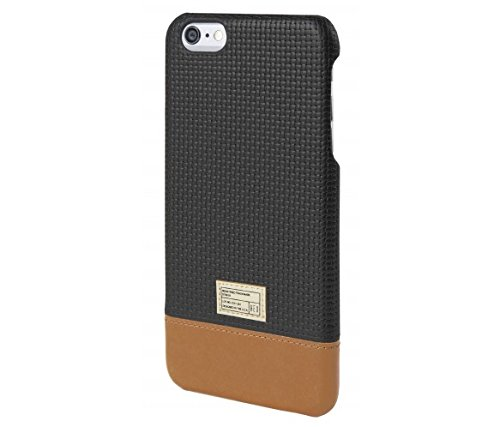 August Accessories HEX Focus Case for iPhone 6 Plus - Retail Packaging - Plus Black Woven