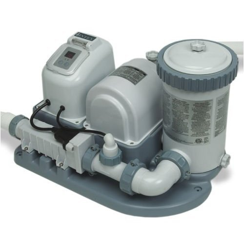 NEW! INTEX Pool 2000 GPH Saltwater System & Filter Pump