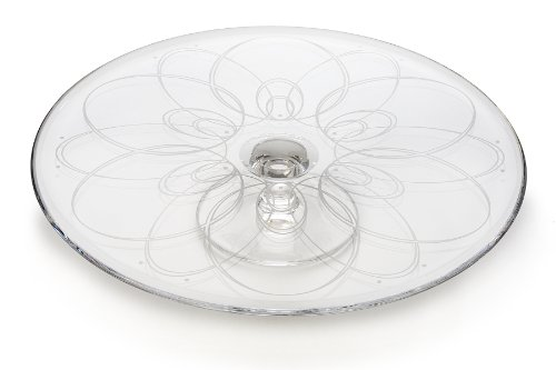 Waterford Crystal Ballet Icing Ftd. Cake Plate