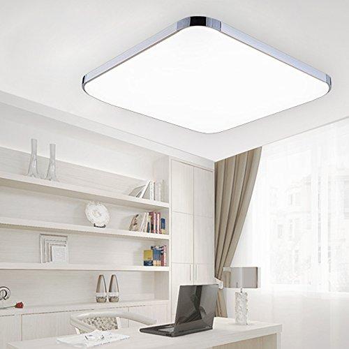 vingo 18w led deckenbeleuchtung im wohnzimmer 6500k kaltwei 1620lm led wand deckenleuchte. Black Bedroom Furniture Sets. Home Design Ideas