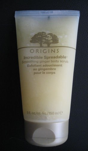 Origins Incredible Spreadable Smoothing Ginger Body Scrub 5 oz / 150 ml