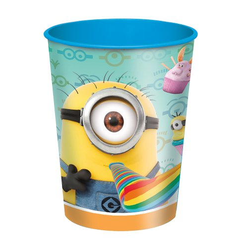 Cheap 16oz Plastic Despicable Me Stadium Cup