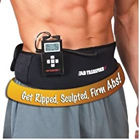 Ab Transformer Plus+ As Seen on TV Hollywood Limited Edition Ab Toning Fitness Belt for Men & Women