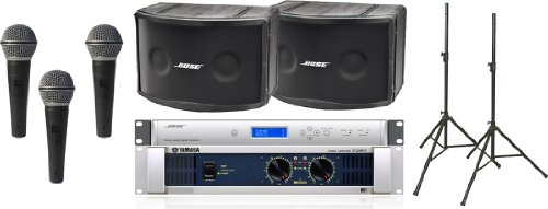 Bose 802 Iii Series Portable Panaray Sound System Package With Yamaha P2500S And 3 Free Microphones