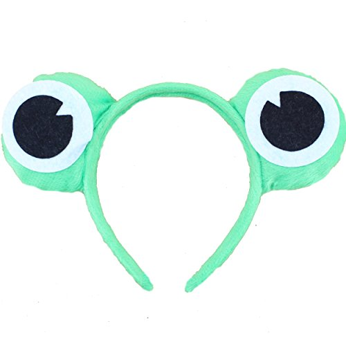 5pcs Wild Animal Ear Headband Cute Frog Christmas Party Costume Cartoon