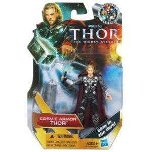 Thor: The Mighty Avenger Action Figure #19 Cosmic Armor Thor 3.75 Inch - 1