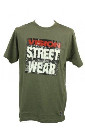 Vision Street Wear Vision Street Wear Highrise T-Shirt Tee Skateboarding Skate Men Kult gr?n in Gr. S - T-Shirts