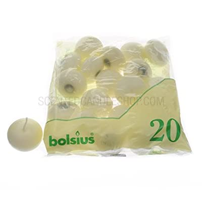 Bolsius Floating Candles - 20 Pack (Ivory) from Yankee Candle