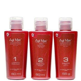 Agi-Max-Brazilian-Keratin-Hair-Straightening-Kit-60-ML-Strong-Formula-Red-Bottles