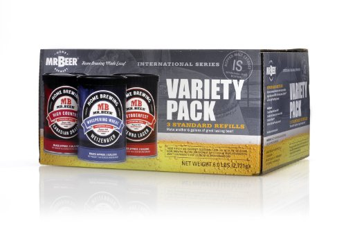 Mr. Beer 3-Beer Mix Variety Pack