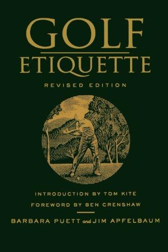 Etiquette golf, édition révisée