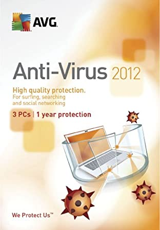 AVG 2012 Anti-Virus - 3 Users - 1 Year [Download]