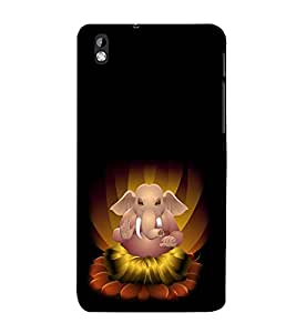 Fuson 3D Designer Back Case Cover For HTC Desire 816