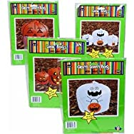 REGENT PRODUCTS CORP G89687N Halloween Lawn & Leaf Bag Pack of 48