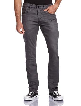 Kaporal - Ambro - Jeans - Droit - Vintage - Homme - Gris (Métal) - W28/L34