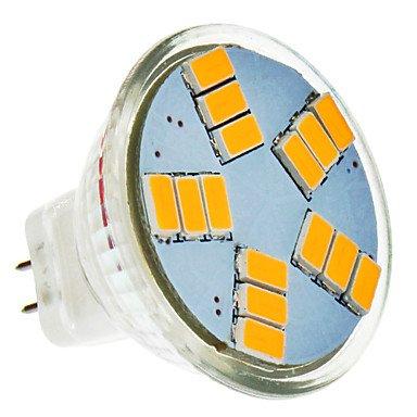 Rayshop - Mr11 5W 15X5630Smd 420Lm 2500-3500K Warm White Light Led Spot Bulb (12V)