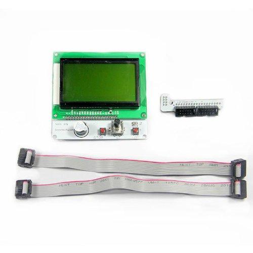 Shanhai Lcd Smart Controller 12864 Version With Led Control For 3D Printer Reprap Mendel