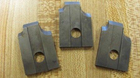 "Corob Molding Knife: #38 1/8"" & 1/4"" Eased Edge"