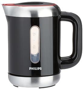 Philips HD 4685/90 Wasserkocher Essential / 2400 Watt / 1 Liter / Temperaturregelung / schwarz