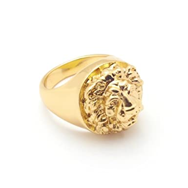 Lion Ring (Large) by Bill Skinner||RF10F