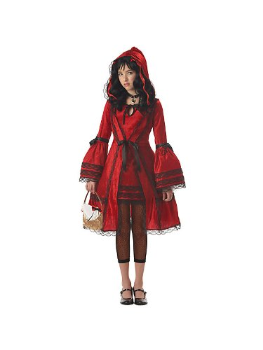 Morris Costumes Red Riding Hood Child Large 10-12