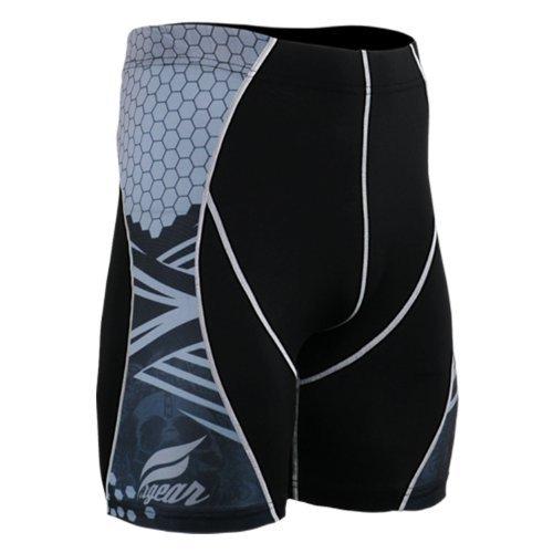 Fixgear Mens Womens Spandex Tight Baselayer Compression Running Shorts S ~ ~ 4XL