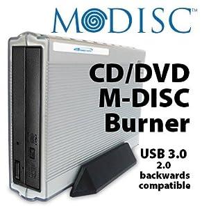 M-Disc CD/DVD Burner