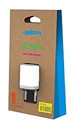 Smartfish (i-color) Mini USB Adapter Wall charger (White)