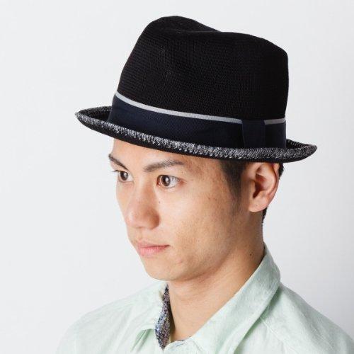 グレース(Grace) 帽子(中折れサーモニットハット)【ブラック/1サイズ】