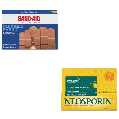 kitjoj4444pfi512373700-value-kit-neosporin-antibiotic-ointment-pfi512373700-and-band-aid-flexible-fa