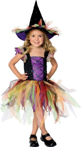 Child's Glitter Witch Costume
