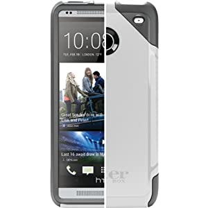 OtterBox Commuter Series Case for HTC One - Retail Packaging - White