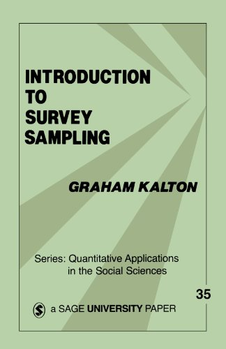 Introduction to Survey Sampling (Quantitative Applications in the Social Sciences)