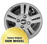 Chevrolet Optra 15X6 4 Lug 5 Double Spokes Factory Oem Wheel Rim - Silver Finish - Remanufactured