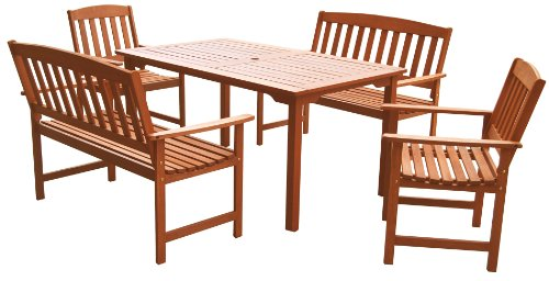 Li-Lo Leisure Malay Dining Set (5 Pieces)