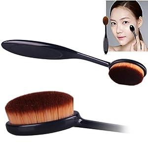 Pinceaux Maquillage, Koly Maquillage Cosmetic Pro Blush Poudre pour le visage Brosse à dents Curve Foundation Brush