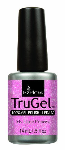 Ez Flow Trugel 4th Launch Nail Lacquer, My Little Princess, 0.5 Fluid Ounce by EZ Flow