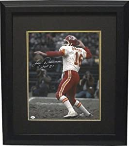 Len Dawson Autographed Hand Signed Kansas City Chiefs 16x20 Photo Custom Framed HOF... by Hall of Fame Memorabilia