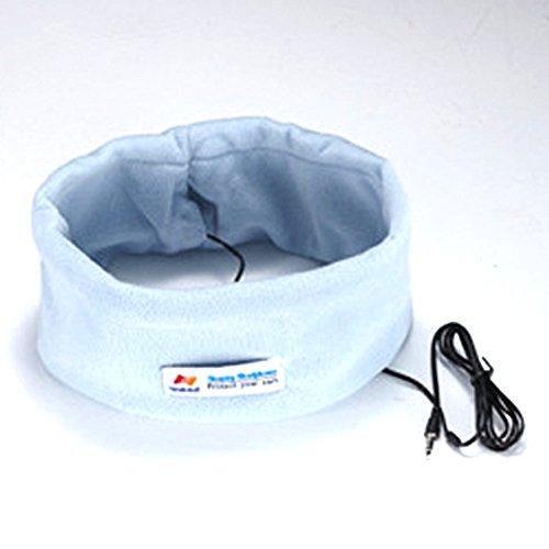 Musicell Sleepphones Classic Sleep Headphones Sleeping Earphones Sleep Earbuds Bed Earphones Headband Earpods Helping Sleeping Headset Musicell-140709 (Skyblue)