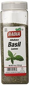 Badia Basil Leaves Albahaca, 4-Ounce  (Pack of 6)