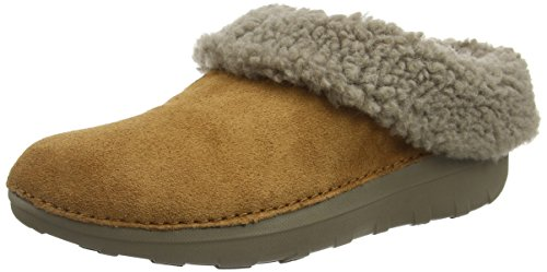 FitFlop-Womens-Loaff-Snug-Suede-Chestnut-Slipper-7