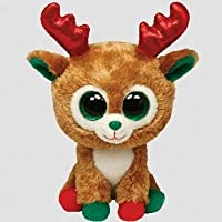 Alpine Reindeer Beanie Boo Medium - Arctic Stuffed Animal by Ty (36993) from Ty