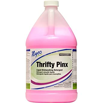 Nyco Products NL984-G4 Thrifty Pinx Lotionized Dishwash, 1-Gallon Bottle (Case of 4)