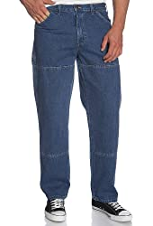 Dickies Men's Relaxed-Fit Double-Knee Workhorse Jean